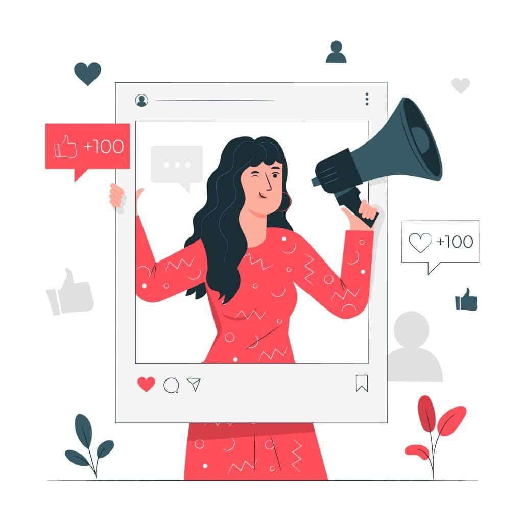 Rivolgersi a un influencer può essere un buon metodo per aumentare follower e like su Instagram